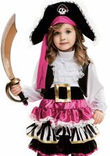 Little Pirate Girl Costume
