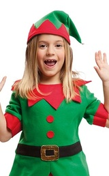 Simply Elf Girls Costume