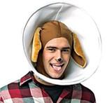 Dog in Cone Adult Costume