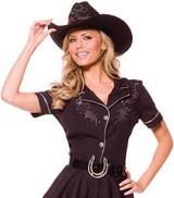 Cowgirl Rhinestone Womens Costume