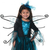 Blue Fairy Girls Costume