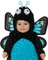 Blue Butterfly Toddler Girl Costume