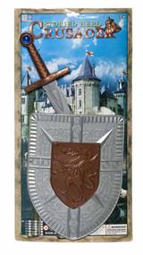 Crusader Shield and Sword Set for Kids