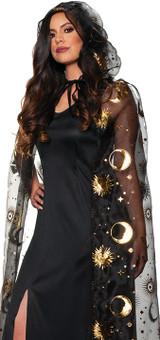 Celestial Gold Women Cape