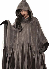 Gray Ghoul Cape Adult Costume