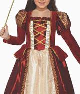 Princess Regal Red Girls Costume