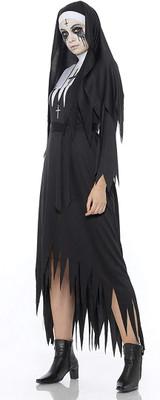 Demon Nun Womens Costume