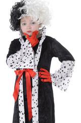Cruella Deville Girls Costume