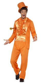 Lloyd Christmas Orange Tuxedo Costume