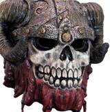 Red Beard Skeleton Mask