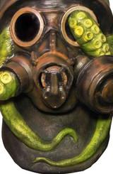 Octopus Gas Full Latex Mask