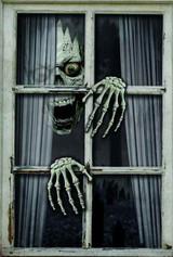 Spooky Window Decor 47in