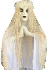 Light Up Haunted Crying Bride 60in