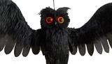 Animated Sonic Owl Black 28in