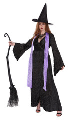 Wicked Witch Women Black Costume