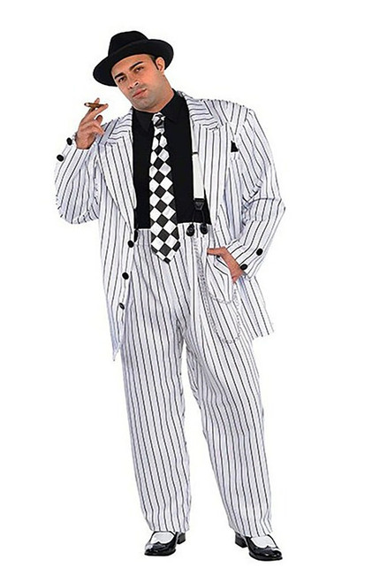 Pinstripe Daddy Plus Costume