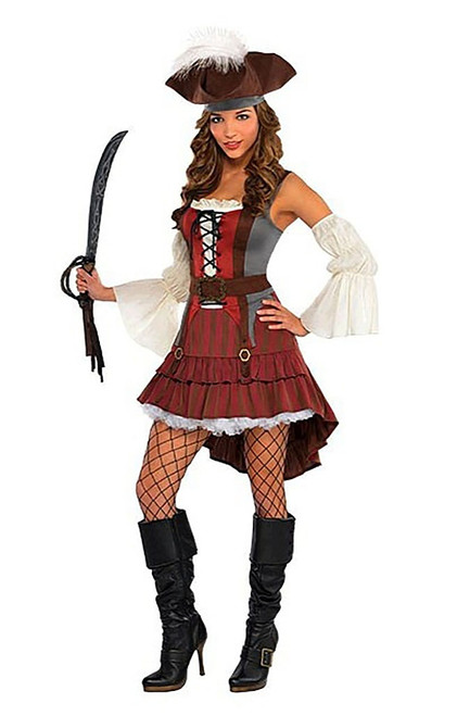 Castaway Women Pirate Costume