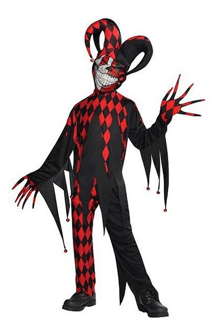 Krazed Jester Costume Child