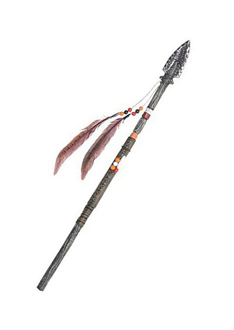 Adult Spear with Feathers