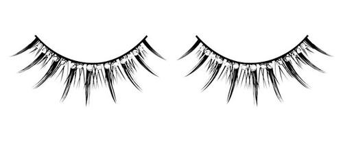 Glamour Eyelashes No. 494 back