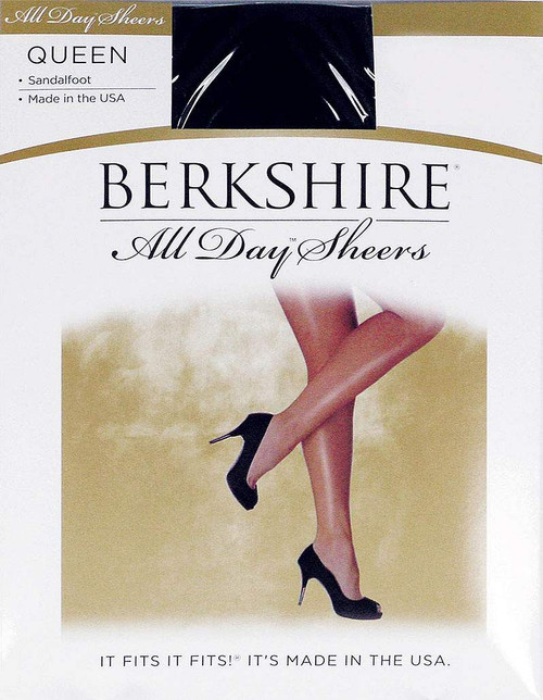 All Day Sheer Without Control Pantyhose Queen Size