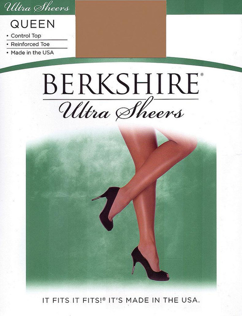 Ultra Sheer Control Pantyhose Queen Size
