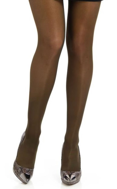 Shimmer Semi-Opaque Tights Control Chocolate