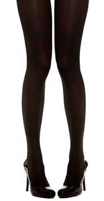 Luxe Opaque Tights with Control Queen Size