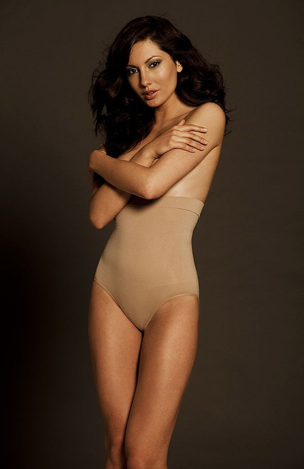 The High Waist Slenderizer Nude