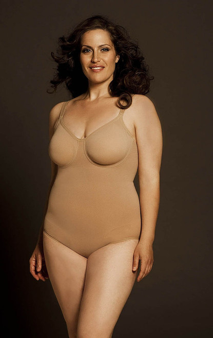 Pin Up with Underwire Nude Plus