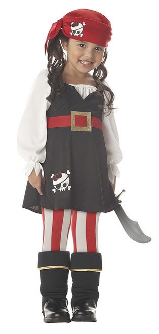 Precious Lil Girl Pirate Costume