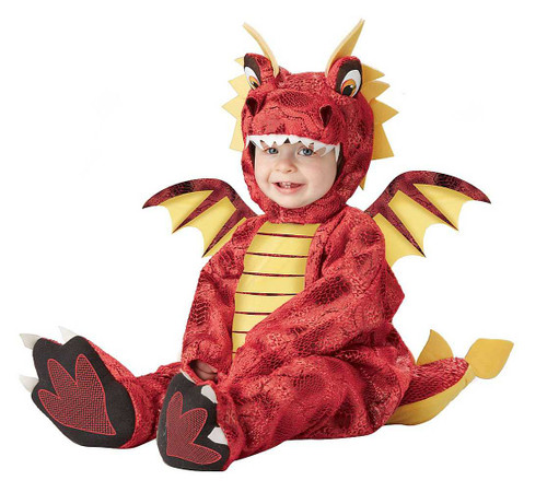 Adorable Dragon Toddler Costume
