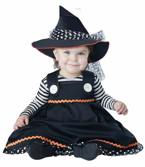 Crafty Lil' Witch Costume