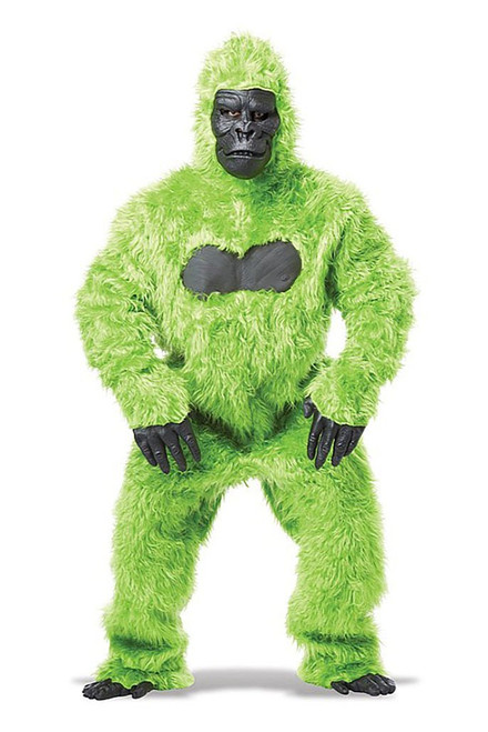 Gorilla Adult Green Costume