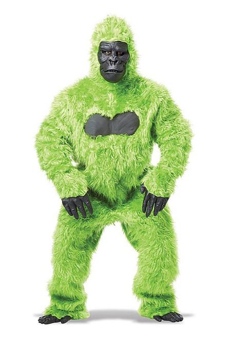 Gorilla Adult Green Costume
