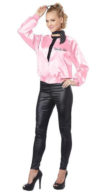 Ladies Jacked the Pink Satin