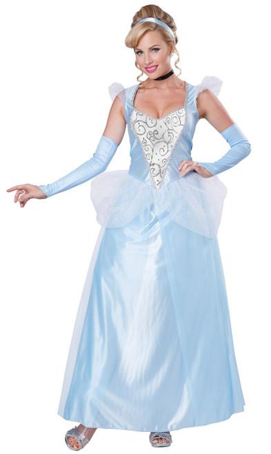 Cinderella Womens Princess Costume