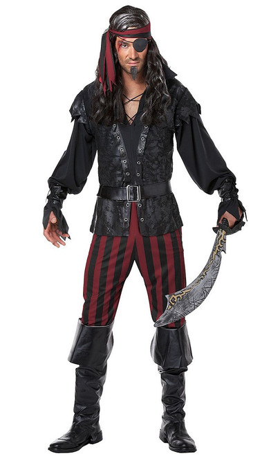 Rogue Men Pirate Costume