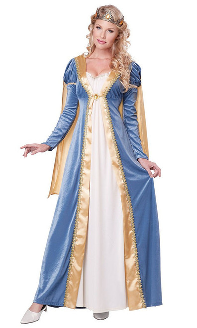 Elegant Empress Medieval Costume