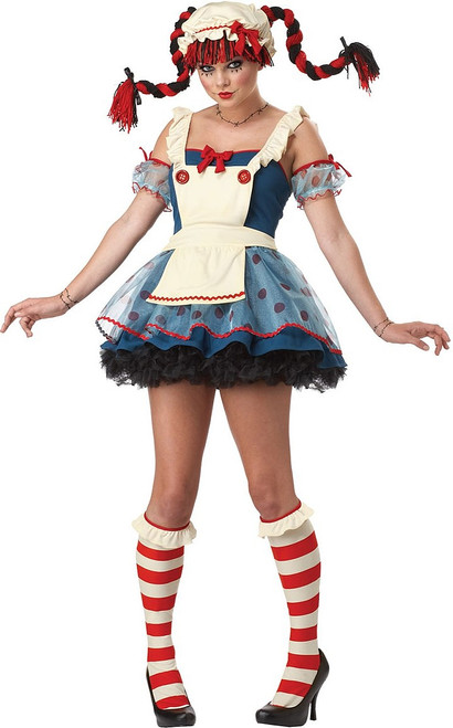 Rag Doll Woman Costume