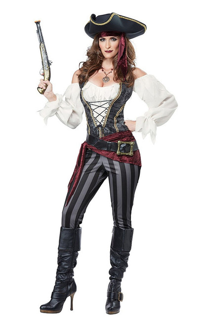 Buccaneer Women Pirate Costume