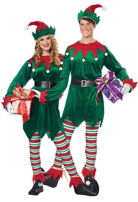 Christmas Elf Adult Costume