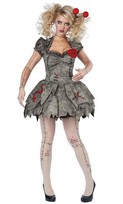 Dolly Voodoo Costume Womens