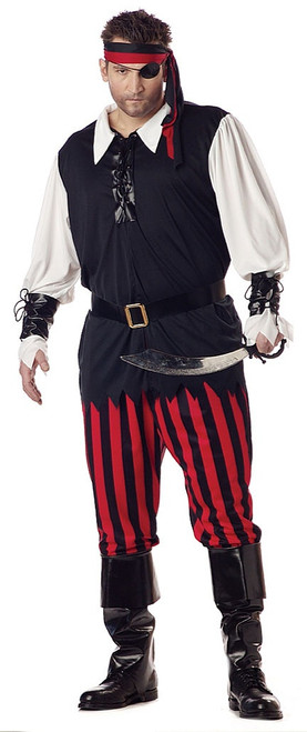 Cutthroat Men Pirate Costume