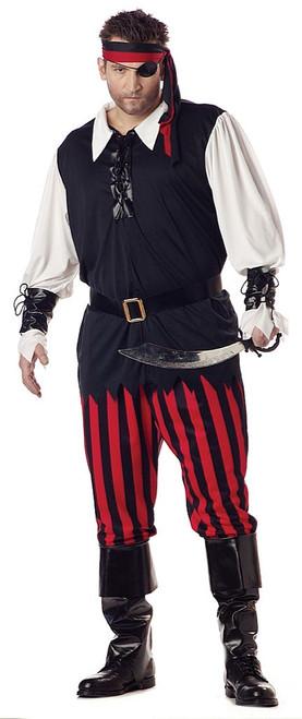 Cutthroat Men Pirate Costume