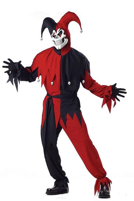 Evil Jester Red & Black Plus