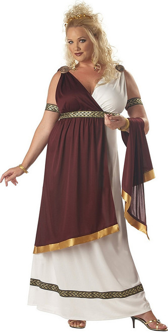 Roman Empress Plus Costume