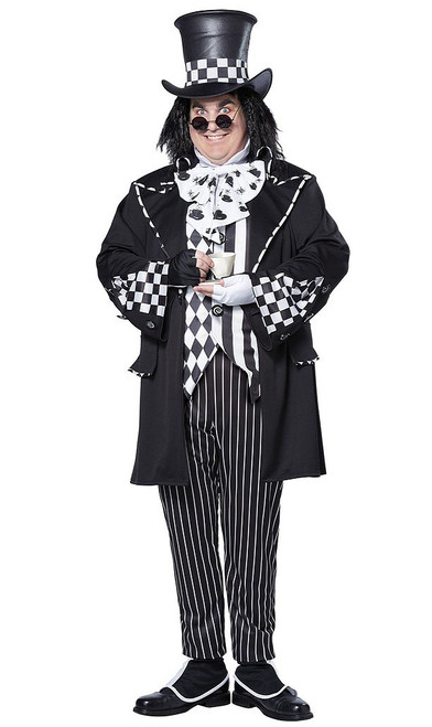 Plus Dark Mad Hatter Costume