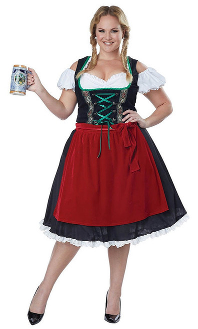 Oktoberfest Fraulein Plus Costume