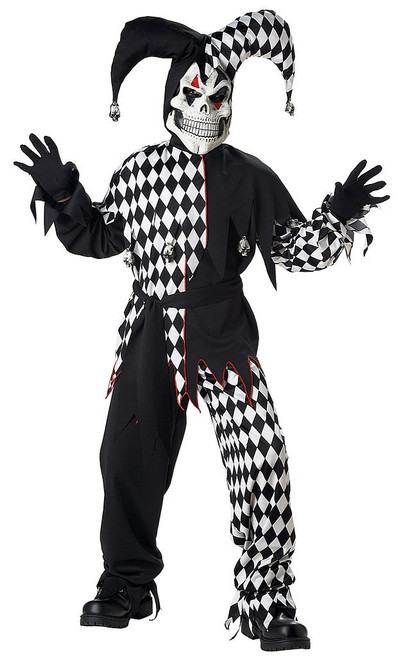 Children's Evil Jester Costume